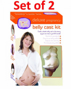Set of 2 ProudBody's deluxe belly cast kits