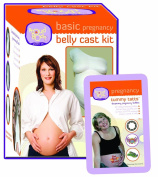 Basic Pregnancy Belly Cast Kit Plus A Tummy Tatts Kit
