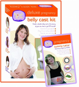 Deluxe Pregnancy Belly Cast Kit Plus A Tummy Tatts kit