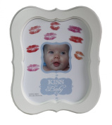 Kiss the Baby Photo Frame for BOYS