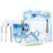 Baby nail clippers suit, training toothbrush, masks, baby cotton swabs