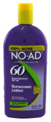 NO-AD Sunscreen Lotion, SPF 60
