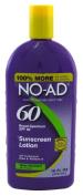 NO-AD Sunscreen Lotion, SPF 60