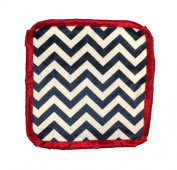 Caught Ya Lookin' Baby Thumb Blanket, Boys Navy and White Chevron