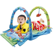 Baby toys, baby fitness frame, baby crawling pad