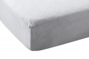 Abstract Terry Cotton Waterproof Fitted Crib Mattress Protector