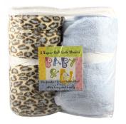 Baby & U Super Soft Crib Sheets - Beige & Ivory