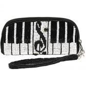Mary Frances Keyed Up Eye Glass Case / Wristlet Handbag