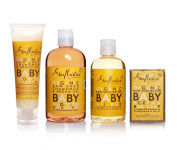 SheaMoisture Raw Shea Baby 4-Piece Bathing Set