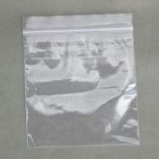 100 7.6cm x 7.6cm 2 Mil Clear Resealable Plastic Bags