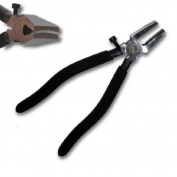 KENT 20cm Glass Running Pliers, Smooth CURVED Jaws