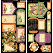 Graphic 45 An Eerie Tale Tags and Pockets Paper Crafting Pad