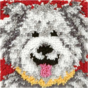 Latch Hook Kit - Shaggy Dog
