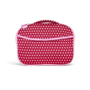 Built Nappy Buddy Changing Pad, In Baby Pink Mini Dots
