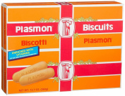 Plasmon - Italian Baby Biscuits (Biscotti), (2)- 380ml Boxes