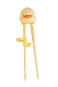 Piyo Piyo Training Chopsticks, Yellow, Large