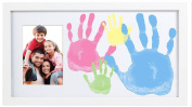 Pearhead Handprint Photo Frame, Family