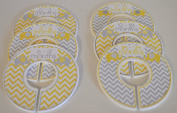 Yellow Elephant Baby Closet Dividers