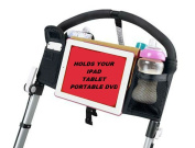 Baby Beehavin' Stroller DVD Player Holder & Pouch Organiser