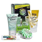 Tattoo Goo Tattoo Aftercare Kit - Includes Soap, Tattoo Goo, Lotion, Colour Guard