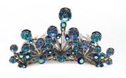 FAIRY PRINCESS BLUE TIARA CINDERELLA COMB 71