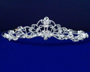 Juliet - Elegant Rhinestone Crystal Wedding Tiara headband