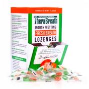 TheraBreath Sugar Free Lozenges - By Dr. Harold Katz - Mandarin Mint