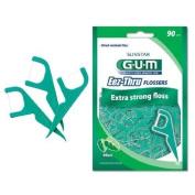 Gum Eez-Thru Flossers Mint, 90 count