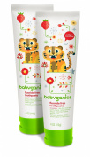 Babyganics Fluoride Free Toothpaste, Strawberry, 120ml