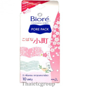 BIORE Cleansing Strips Nose Pore Pack Sakura Green Tea remove blackheads