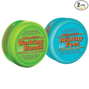 O'Keeffe's Working Hands and Healthy Feet Combo Pack