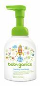 Babyganics Foaming Hand Soap, Fragrance Free, 250ml Pump Bottle