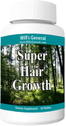 Hair Growth Vitamins ! ★ Supports Hair Growth ★ Stimulate Vibrant and Healthy Hair Production! 100% Natural, Hair Growth Pills ! Natural Thicker, Longer, Vibrant Hair!! Nutrient Rich Formula - PROMOTIONAL PRICE!