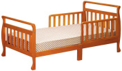 Athena Anna Sleigh Toddler Bed, Pecan