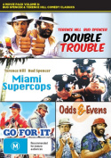4 Movie Pack Volume 8 - Bud Spencer and Terrence Hill Comedy Classics (Double Trouble / Miami Supercops / Go For It / Odds and E [Region 4]