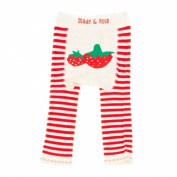 Baby Leggings/footless tights from Blade and Rose - Strawberry design 3-4 yrs