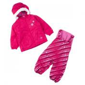 Trespass Iggle Baby Ski Suit Cassis Dot