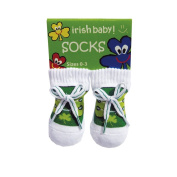 Irish Baby Socks (size 0-3)