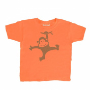 Inda-Bayi Baby-Toddler-Kids Heavy Cotton T Shirt - monkey swinging