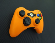 One Piece 1x Brand New High Quality Xbox 360 Remote Controller Silicon Protective Skin Case Cover -Orange Colour