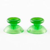 eFuture(TM) 1 Set(2Pcs) XBOX 360 and PS3 Controller Thumbsticks-Green +eFuture's nice Keyring