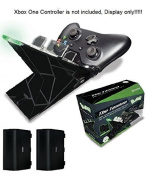 """Hyperkin Polygon """"Tandem"""" Charger Dock Base for Xbox One Controller with Rechargeable Batteries"""
