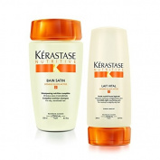 Kérastase Bain Satin 2 & Lait Vital (Shampoo & Conditioner) Duo