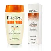 Kérastase Bain Satin 1 & Nectar Thermique (Shampoo & Conditioner) Duo