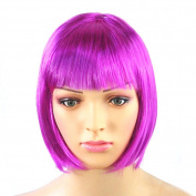 FUNOC New BOB Short Ladies Womens Wig Fancy Dress Cosplay Party