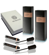 M2Brows Eyebrow Renewing Serum 6-months Eyebrows Growth Treatment 2x5ml & M2Beaute Gift Box