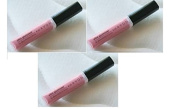 3 x Ultra Glazewear Lip Gloss - Iced Pink