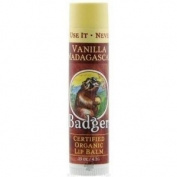 Badger Vanilla Madagascar Lip Care Sticks - B047