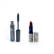 Dollface Mineral Makeup Christmas Gift Set Good Kitty Bad Kitty Lipstick Colour, Snakebite with a Super Lash Mascara