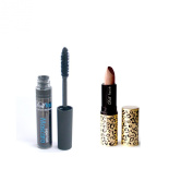 Dollface Mineral Makeup Christmas Gift Set Good Kitty Bad Kitty Lipstick Colour, Pout with a Super Lash Mascara